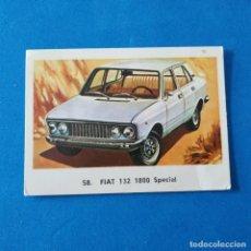 Coleccionismo Cromos antiguos: FIAT 132 1800 SPECIAL CROMO 58 ALBUM MAGA 1972 AUTOMOVILES. Lote 246228540