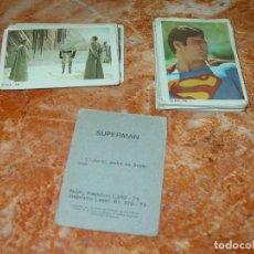 Coleccionismo Cromos antiguos: LOTE 20 CROMOS DE LA COLECCIÓN SUPERMAN, EDITA FHER, TAMBIÉN SUELTOS, ENCUENTRA TUS FALTAS.. Lote 246228610