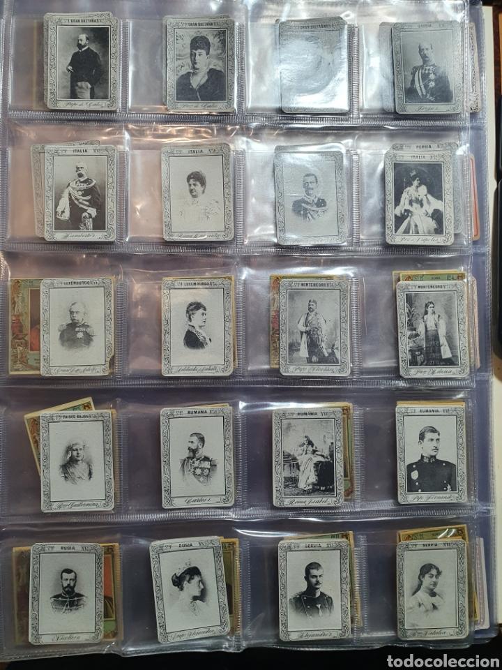 Coleccionismo Cromos antiguos: 69 fototipias serie 9a - Foto 3 - 246552830