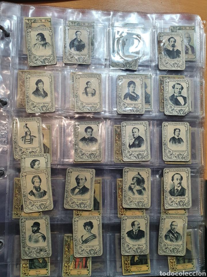 Coleccionismo Cromos antiguos: 40 fototipias serie 12 - Foto 2 - 246560145