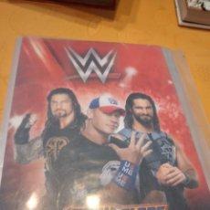 Coleccionismo Cromos antiguos: M-25 ALBUM DE LUCHA LIBRE WWE W ACTION CARDS PANINI VER FOTOS PARA ESTADO Y CROMOS. Lote 248287210