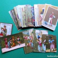 Coleccionismo Cromos antiguos: 96 ANTIGUOS CROMOS DE CHOCOLATE Y OTROS FRANCESES DE PRINCIPIO DE SIGLO XX. Lote 249427970