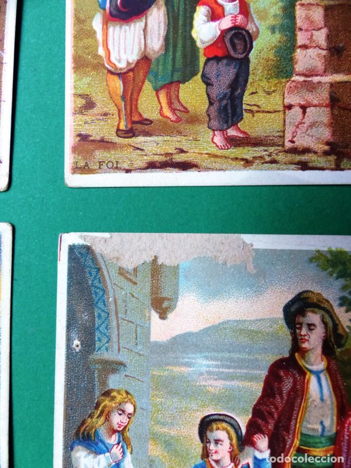 Coleccionismo Cromos antiguos: 96 antiguos cromos de chocolate y otros franceses de principio de siglo XX - Foto 6 - 249427970