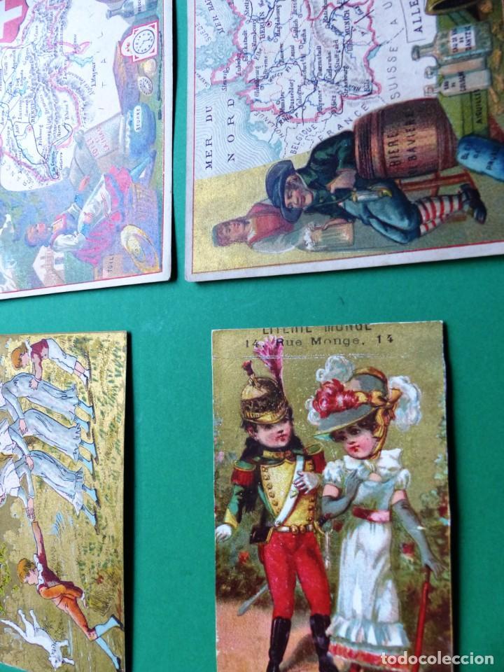 Coleccionismo Cromos antiguos: 96 antiguos cromos de chocolate y otros franceses de principio de siglo XX - Foto 12 - 249427970