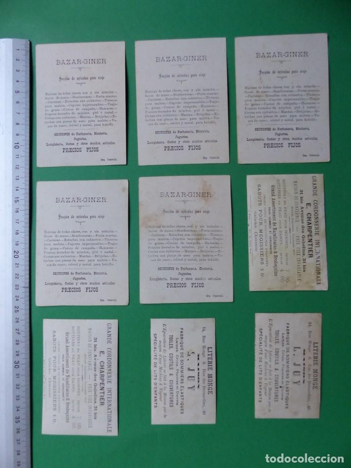 Coleccionismo Cromos antiguos: 96 antiguos cromos de chocolate y otros franceses de principio de siglo XX - Foto 15 - 249427970