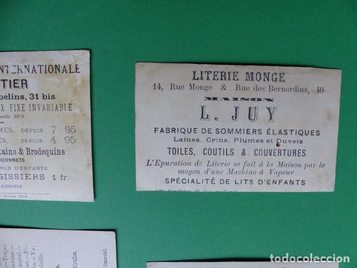 Coleccionismo Cromos antiguos: 96 antiguos cromos de chocolate y otros franceses de principio de siglo XX - Foto 16 - 249427970