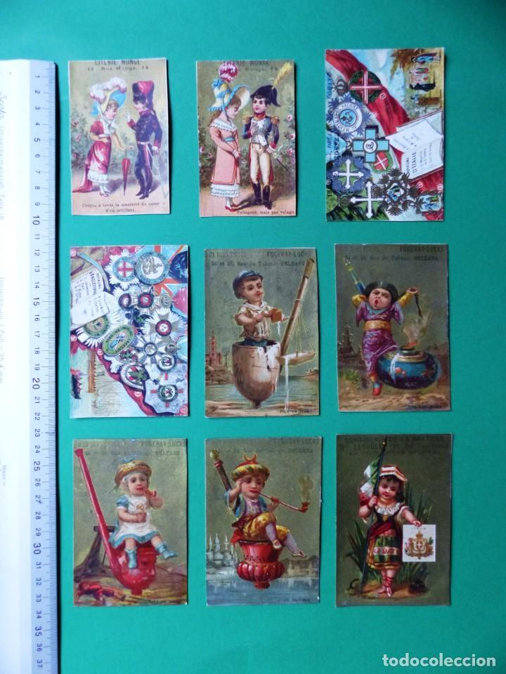 Coleccionismo Cromos antiguos: 96 antiguos cromos de chocolate y otros franceses de principio de siglo XX - Foto 18 - 249427970
