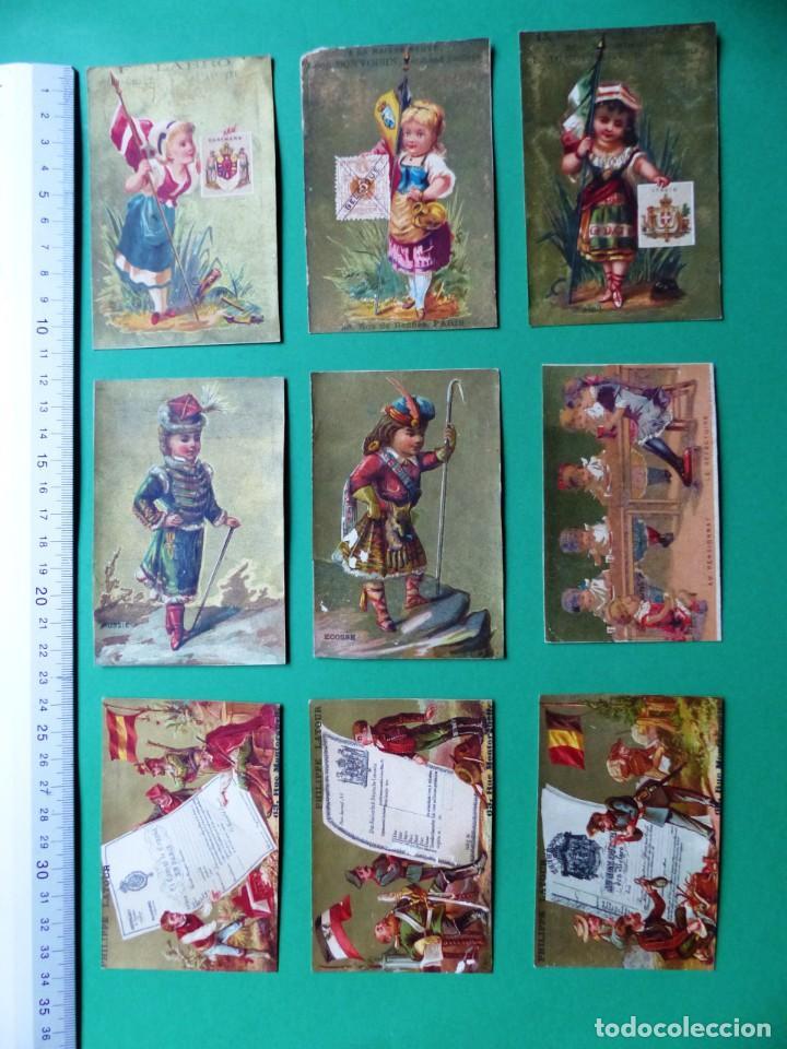 Coleccionismo Cromos antiguos: 96 antiguos cromos de chocolate y otros franceses de principio de siglo XX - Foto 23 - 249427970