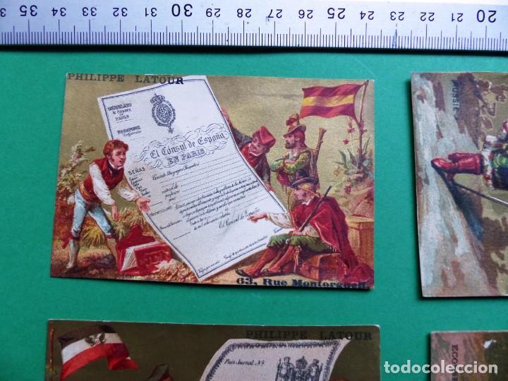 Coleccionismo Cromos antiguos: 96 antiguos cromos de chocolate y otros franceses de principio de siglo XX - Foto 24 - 249427970