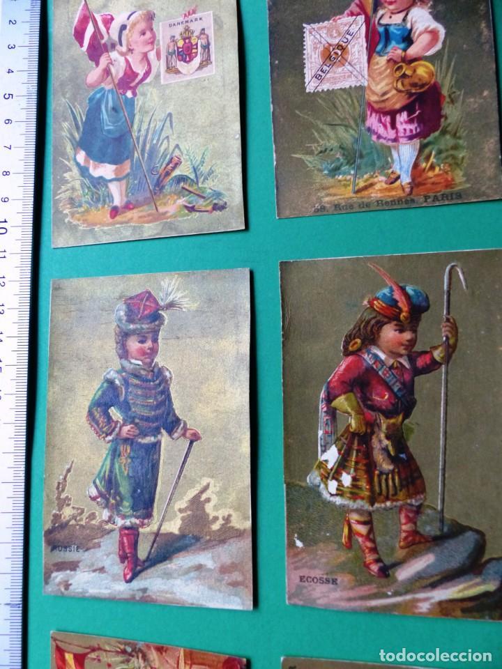 Coleccionismo Cromos antiguos: 96 antiguos cromos de chocolate y otros franceses de principio de siglo XX - Foto 25 - 249427970