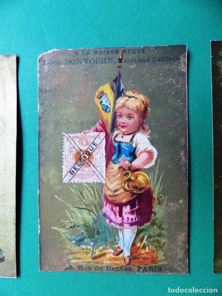 Coleccionismo Cromos antiguos: 96 antiguos cromos de chocolate y otros franceses de principio de siglo XX - Foto 26 - 249427970