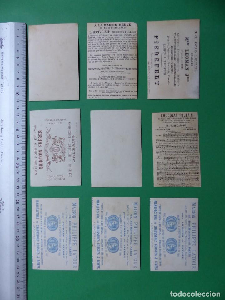 Coleccionismo Cromos antiguos: 96 antiguos cromos de chocolate y otros franceses de principio de siglo XX - Foto 27 - 249427970
