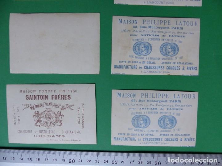 Coleccionismo Cromos antiguos: 96 antiguos cromos de chocolate y otros franceses de principio de siglo XX - Foto 28 - 249427970