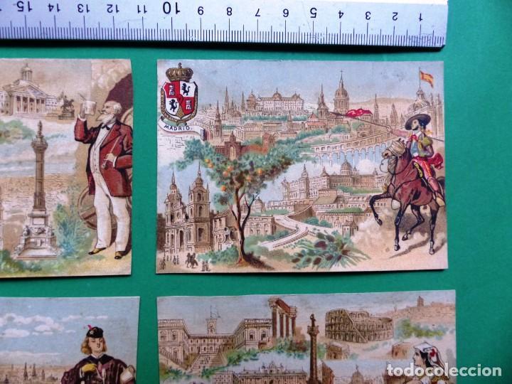 Coleccionismo Cromos antiguos: 96 antiguos cromos de chocolate y otros franceses de principio de siglo XX - Foto 32 - 249427970