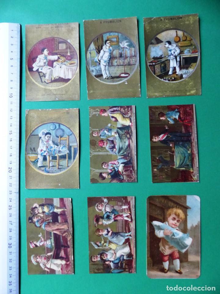 Coleccionismo Cromos antiguos: 96 antiguos cromos de chocolate y otros franceses de principio de siglo XX - Foto 35 - 249427970