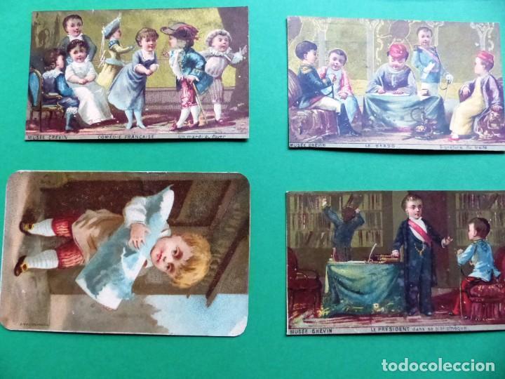 Coleccionismo Cromos antiguos: 96 antiguos cromos de chocolate y otros franceses de principio de siglo XX - Foto 36 - 249427970
