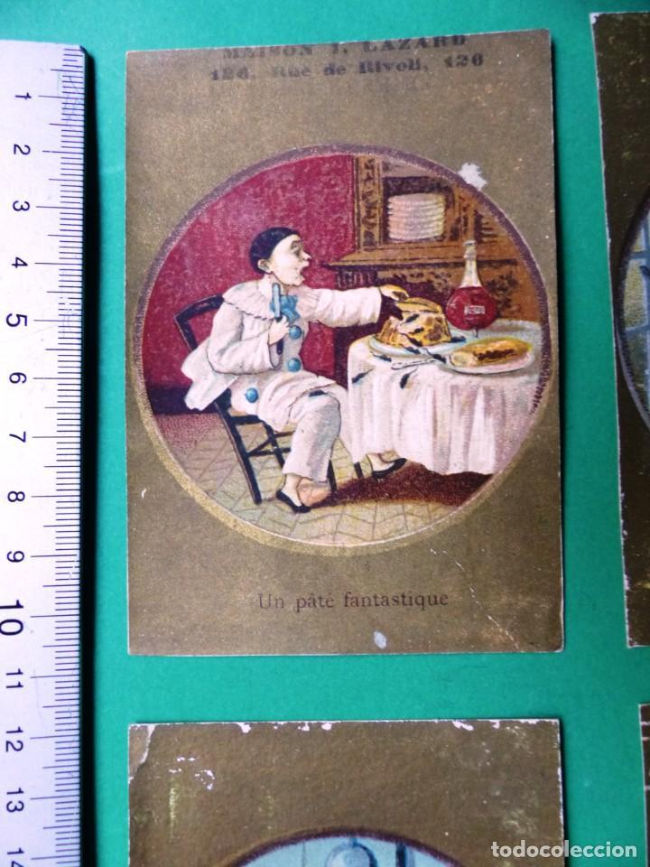 Coleccionismo Cromos antiguos: 96 antiguos cromos de chocolate y otros franceses de principio de siglo XX - Foto 37 - 249427970