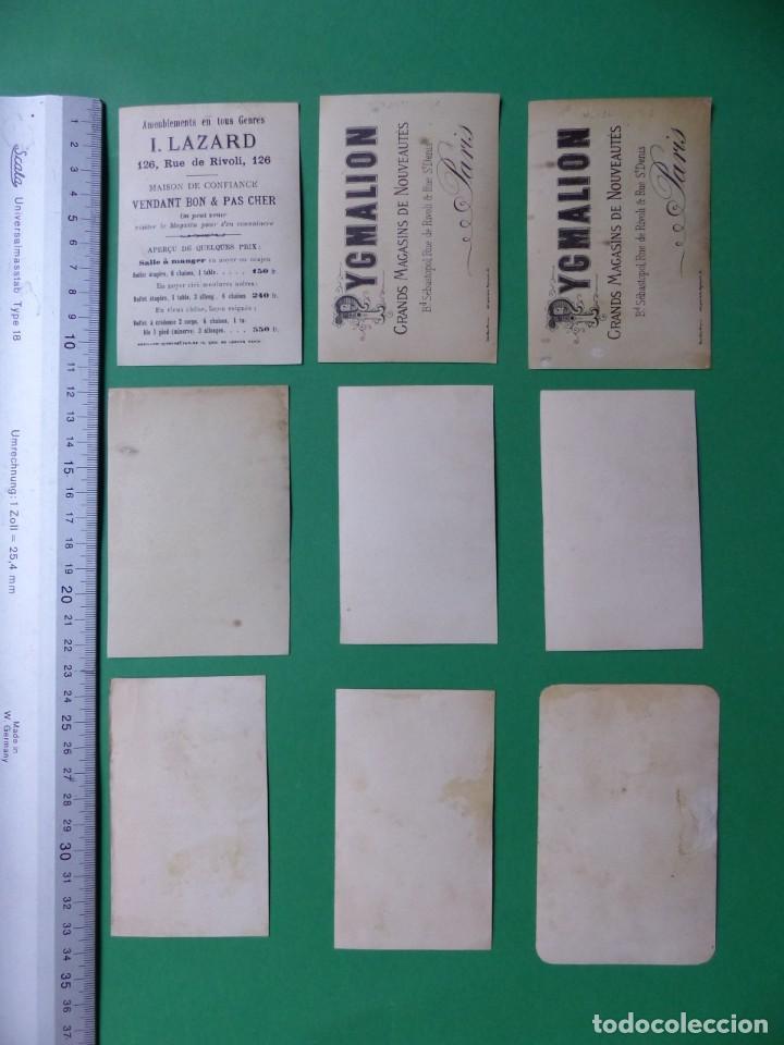 Coleccionismo Cromos antiguos: 96 antiguos cromos de chocolate y otros franceses de principio de siglo XX - Foto 38 - 249427970