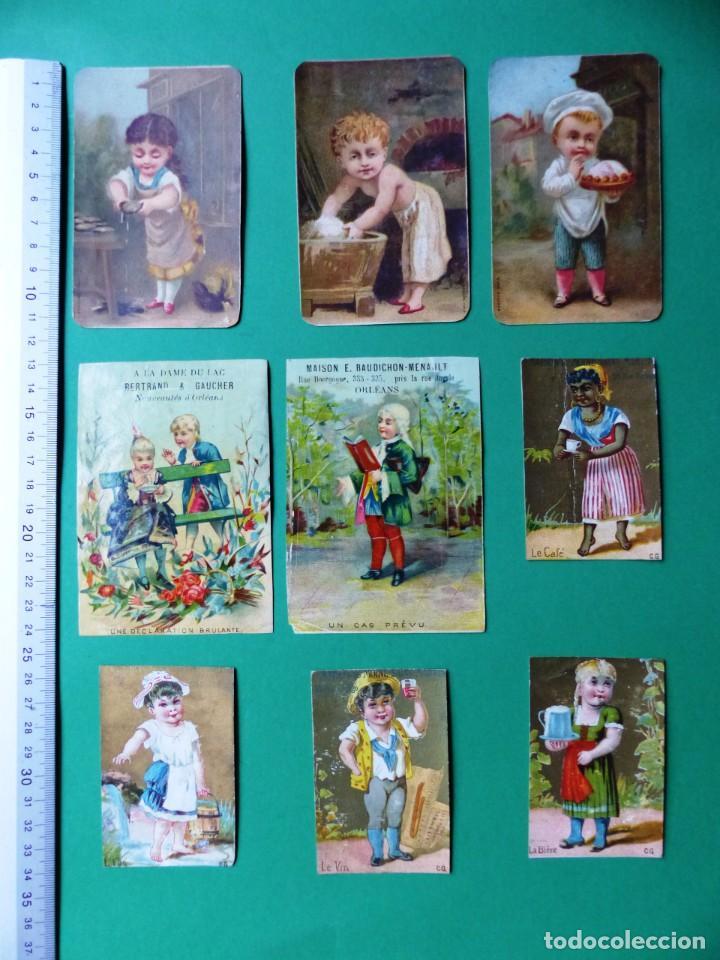 Coleccionismo Cromos antiguos: 96 antiguos cromos de chocolate y otros franceses de principio de siglo XX - Foto 40 - 249427970