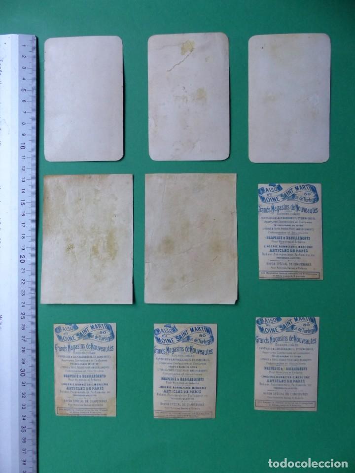 Coleccionismo Cromos antiguos: 96 antiguos cromos de chocolate y otros franceses de principio de siglo XX - Foto 41 - 249427970