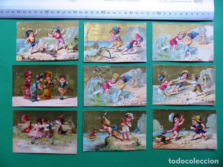 Coleccionismo Cromos antiguos: 96 antiguos cromos de chocolate y otros franceses de principio de siglo XX - Foto 44 - 249427970