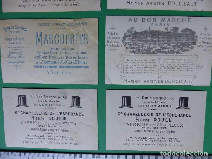 Coleccionismo Cromos antiguos: 96 antiguos cromos de chocolate y otros franceses de principio de siglo XX - Foto 47 - 249427970