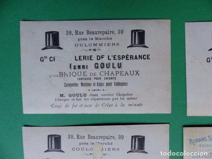 Coleccionismo Cromos antiguos: 96 antiguos cromos de chocolate y otros franceses de principio de siglo XX - Foto 48 - 249427970