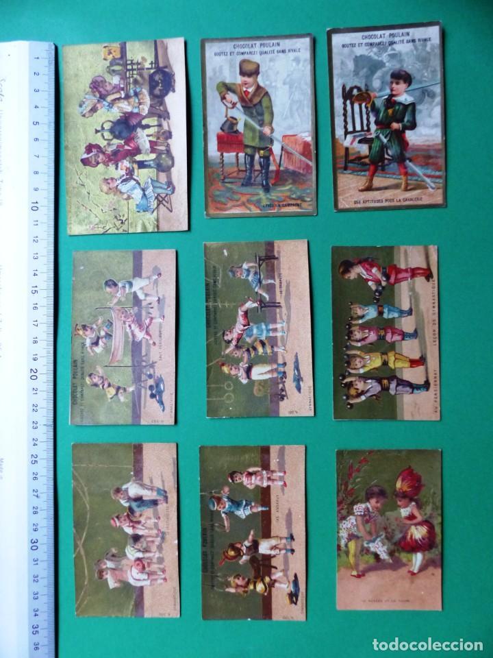 Coleccionismo Cromos antiguos: 96 antiguos cromos de chocolate y otros franceses de principio de siglo XX - Foto 49 - 249427970