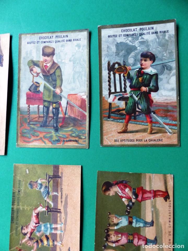 Coleccionismo Cromos antiguos: 96 antiguos cromos de chocolate y otros franceses de principio de siglo XX - Foto 51 - 249427970