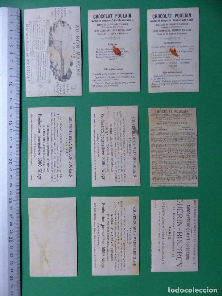 Coleccionismo Cromos antiguos: 96 antiguos cromos de chocolate y otros franceses de principio de siglo XX - Foto 52 - 249427970
