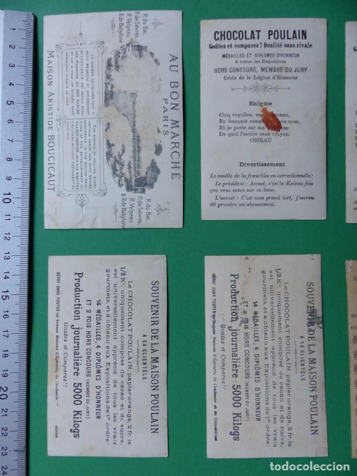 Coleccionismo Cromos antiguos: 96 antiguos cromos de chocolate y otros franceses de principio de siglo XX - Foto 53 - 249427970