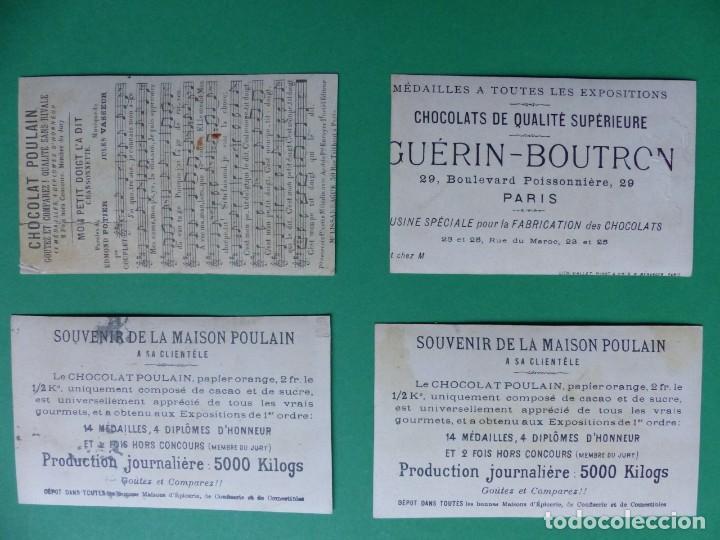 Coleccionismo Cromos antiguos: 96 antiguos cromos de chocolate y otros franceses de principio de siglo XX - Foto 54 - 249427970