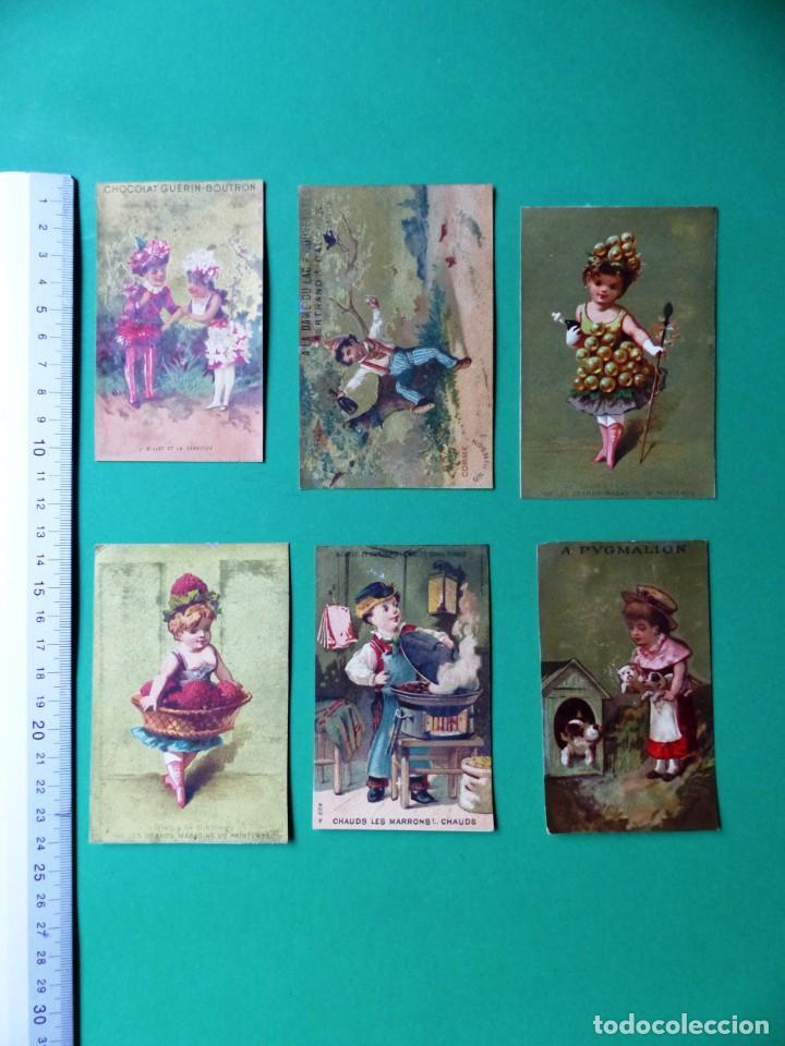 Coleccionismo Cromos antiguos: 96 antiguos cromos de chocolate y otros franceses de principio de siglo XX - Foto 55 - 249427970