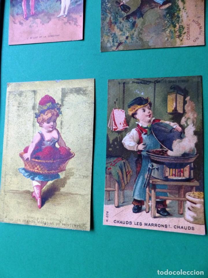 Coleccionismo Cromos antiguos: 96 antiguos cromos de chocolate y otros franceses de principio de siglo XX - Foto 56 - 249427970