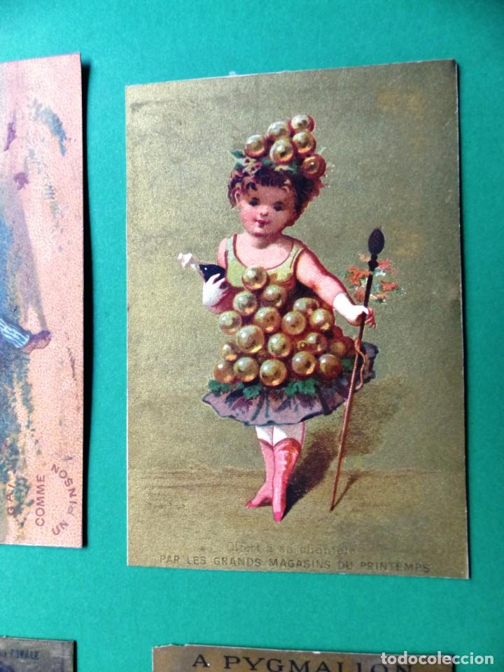 Coleccionismo Cromos antiguos: 96 antiguos cromos de chocolate y otros franceses de principio de siglo XX - Foto 57 - 249427970