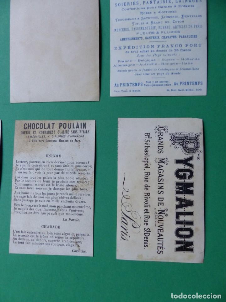 Coleccionismo Cromos antiguos: 96 antiguos cromos de chocolate y otros franceses de principio de siglo XX - Foto 59 - 249427970