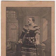 Collectionnisme Cartes à collectionner anciennes: JOSÉ PALET - FOTOTIPIA J. THOMAS - FOTO AUDOUARD BARCELONA - ROSICH Y C.ª CANTANTE ÓPERA. Lote 251585745
