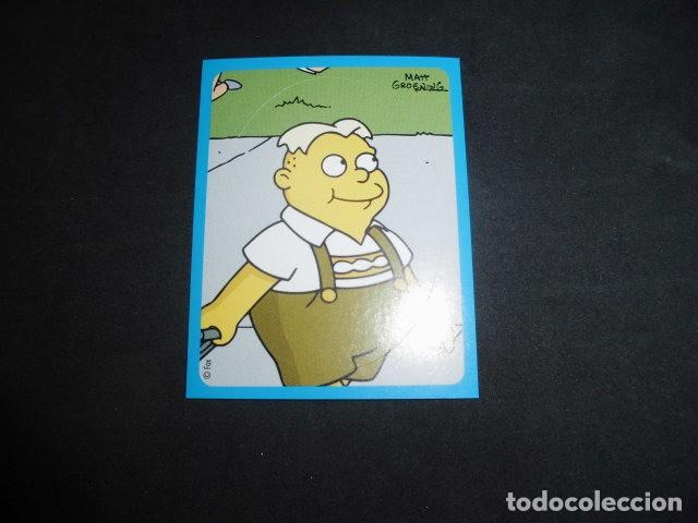 CROMO STICKER DE: THE SIMPSONS SCHOOL SURVIVAL GUIDEBOOK - Nº 46 - SIN PEGAR - PANINI 2004 (Coleccionismo - Cromos y Álbumes - Cromos Antiguos)