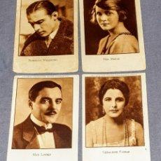Coleccionismo Cromos antiguos: 20 CROMOS ARTISTAS EMINENTES CINEMATOGRÁFICOS SERIE.VI NUMERADOS DEL N° 1 AL 20. COMPLETA.. Lote 253922055