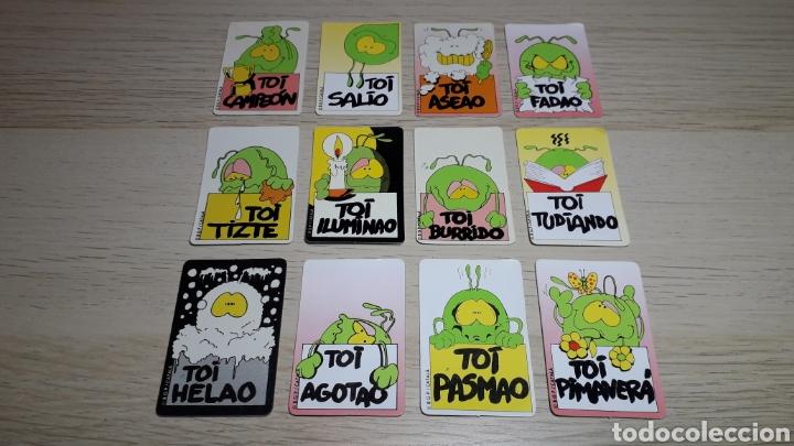 12 X CROMO *TOI*, PROMOCIONAL PREMIUM BOLLYCAO PANRICO. AÑOS 90. (Coleccionismo - Cromos y Álbumes - Cromos Antiguos)