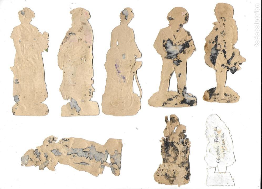 Coleccionismo Cromos antiguos: P-12540. LOTE DE 21 CROMOS TROQUELADOS. PRINCIPIOS S.XX. - Foto 4 - 254708060
