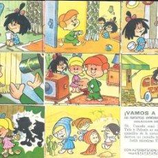 Coleccionismo Cromos antiguos: PEDIDO CROMOS VAMOS A LA CAMA. LA FAMILA TELERÍN. BRUGUERA 1965.. Lote 256084560