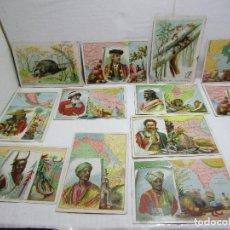 Coleccionismo Cromos antiguos: CROMOS ANTIGUOS VALENTER - - LOTE DE 12 - VARIADOS. Lote 259324745