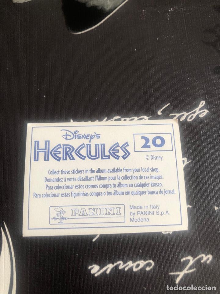 Coleccionismo Cromos antiguos: Hercules disney - Foto 2 - 261095220