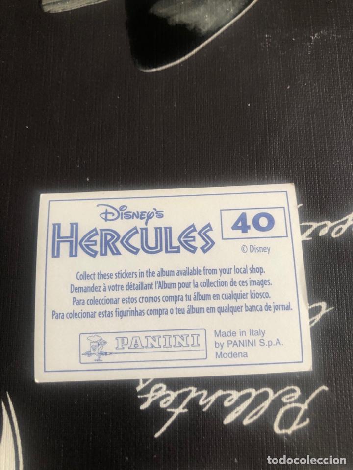 Coleccionismo Cromos antiguos: Hercules disney - Foto 2 - 261097280