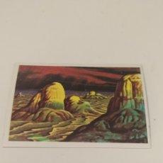 Coleccionismo Cromos antiguos: CROMO HACE MILLONES DE AÑOS EDITORIAL RUIZ ROMERO N°9. Lote 263596780