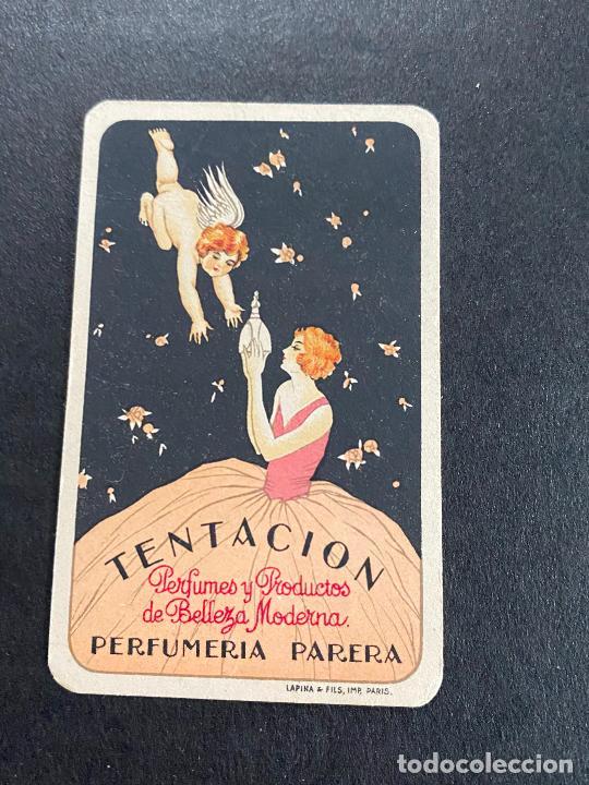 CROMO TENTACION PERFUMERIA PARERA (Coleccionismo - Cromos y Álbumes - Cromos Antiguos)