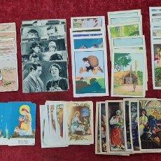 Coleccionismo Cromos antiguos: CONJUNTO DE 12 COLECCIONES DE CROMOS. VER DESCRIPCION. AÑOS 40/50.. Lote 267575794