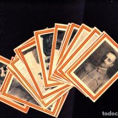 Coleccionismo Cromos antiguos: LOTE DE 18 CROMOS LA GUERRA EN ESPAÑA EDITADA POR CEREGUMIL VER RELACION. Lote 267791969