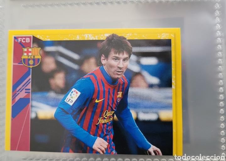 LEO MESSI COLECCIÓN OFICIAL FC BARCELONA 2011-2012 (Coleccionismo - Cromos y Álbumes - Cromos Antiguos)